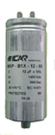 Picture for category Urms: 360V __ UN: 500V __ Single Phase AC filter capacitors