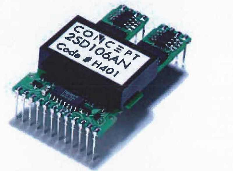 Picture for category Dual SCALE Driver for IGBTs and Power MOSFETs